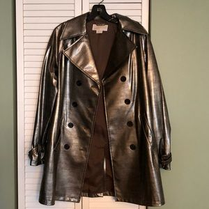 Michael Kors size small print raincoat